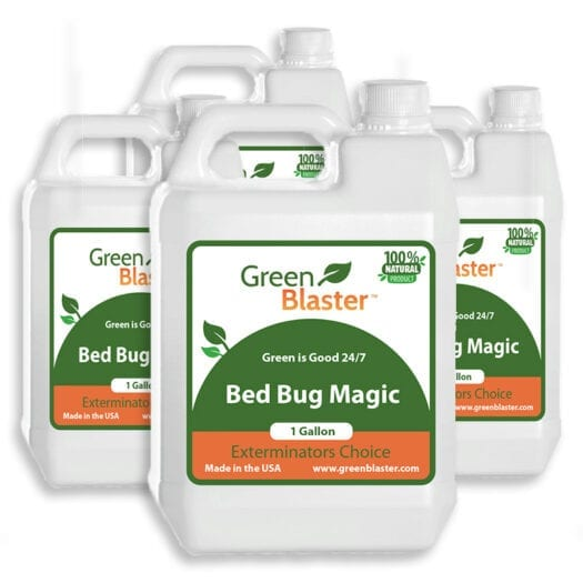 Get 4 Gallons When you Buy 3 of Bed Bug Magic